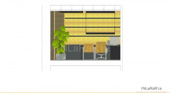 Proy interiorismo despachos y oficinas inlararia for Despachos y oficinas